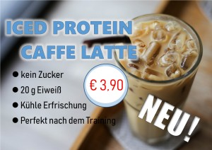 Iced Protein Caffe Latte