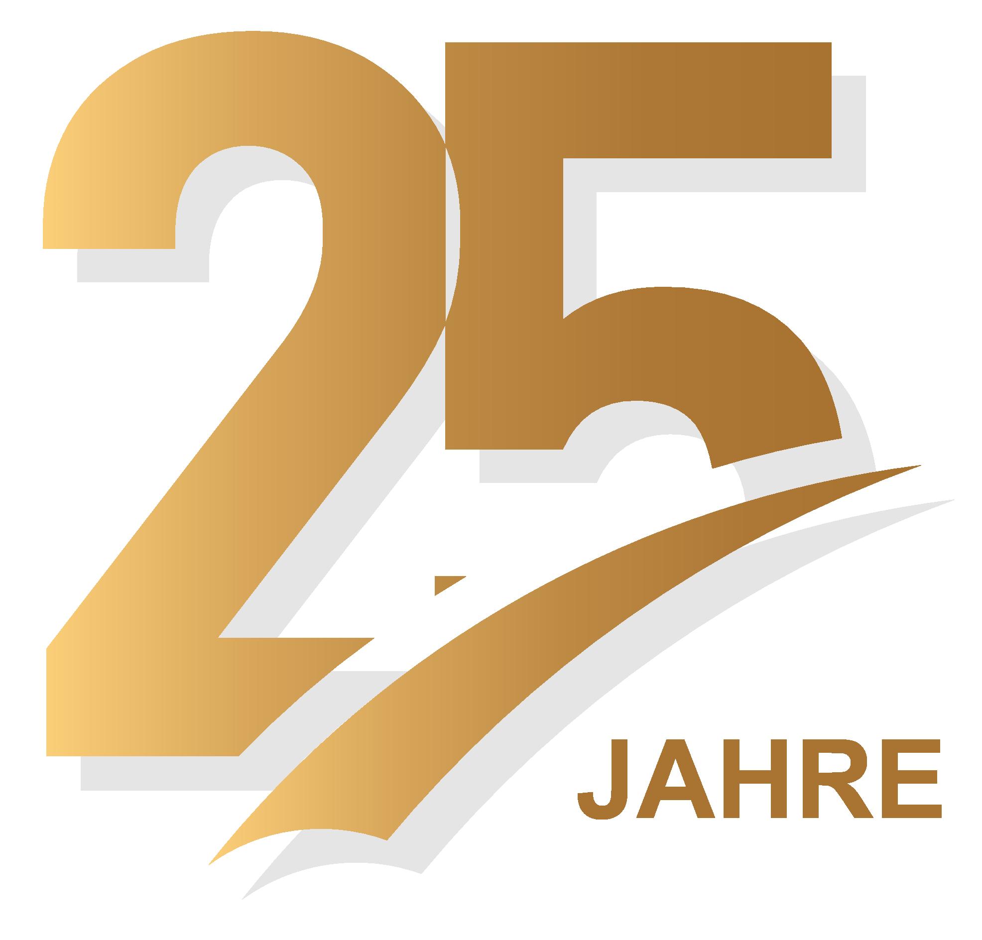 25 Jahre Logo